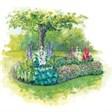 Загородный клуб Юна-Лайф - иконка «сад» в Правдинском